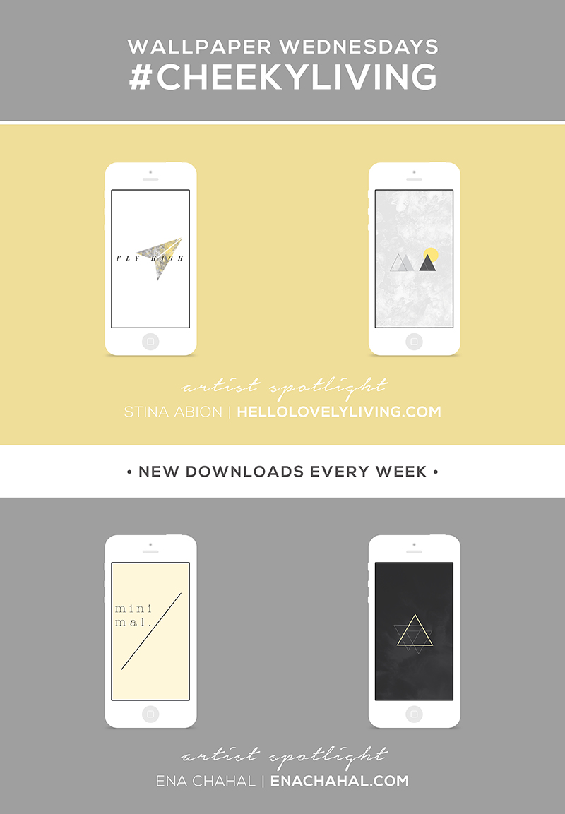 Wallpaper Wednesdays 11 | Minimal Geometric