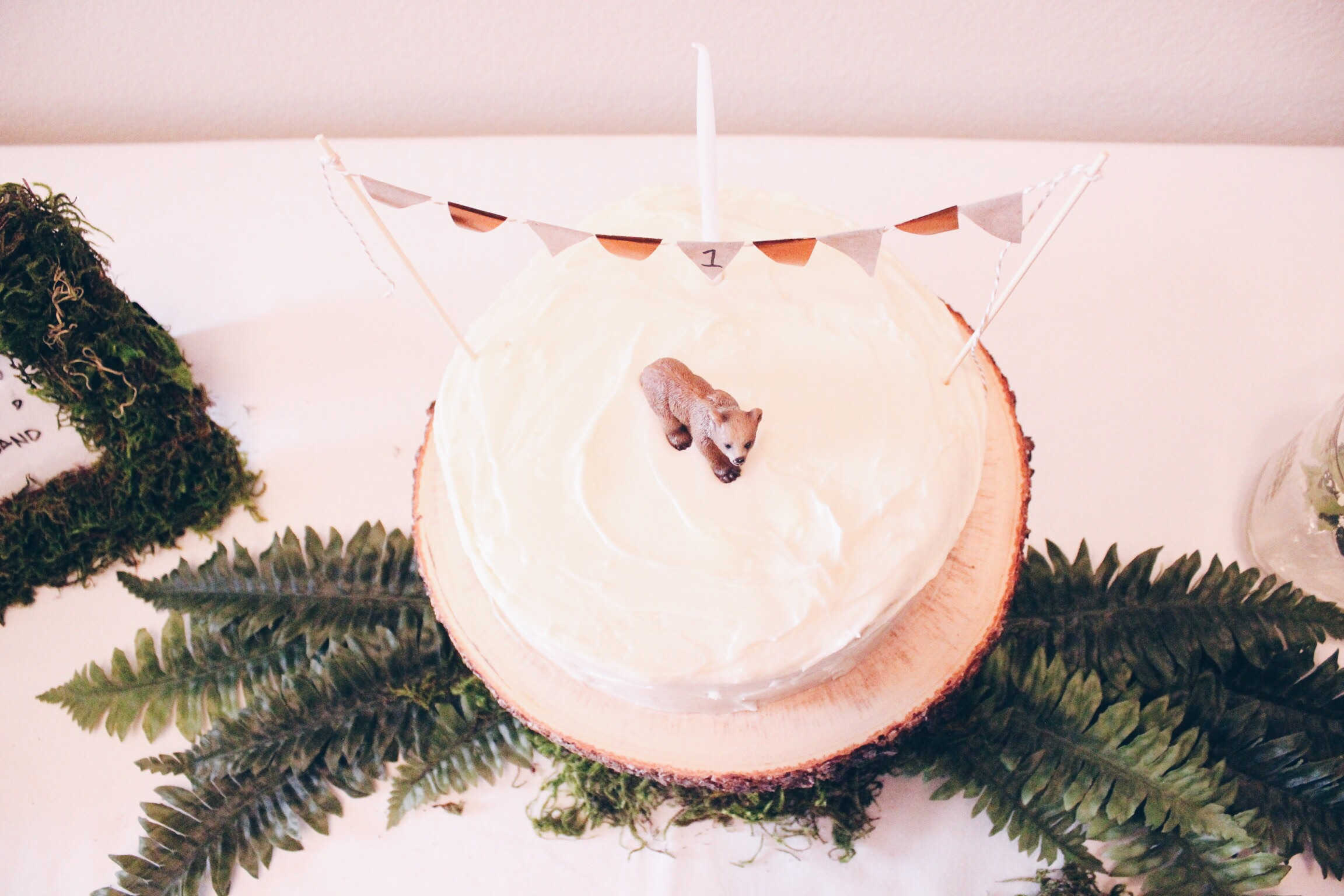 Woodland Themed 1st Birthday Party | Hello Lovely Living