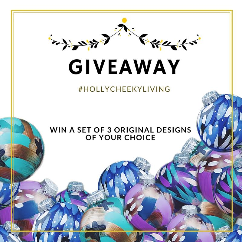 Giveaway | Original Ornaments by Holly Young