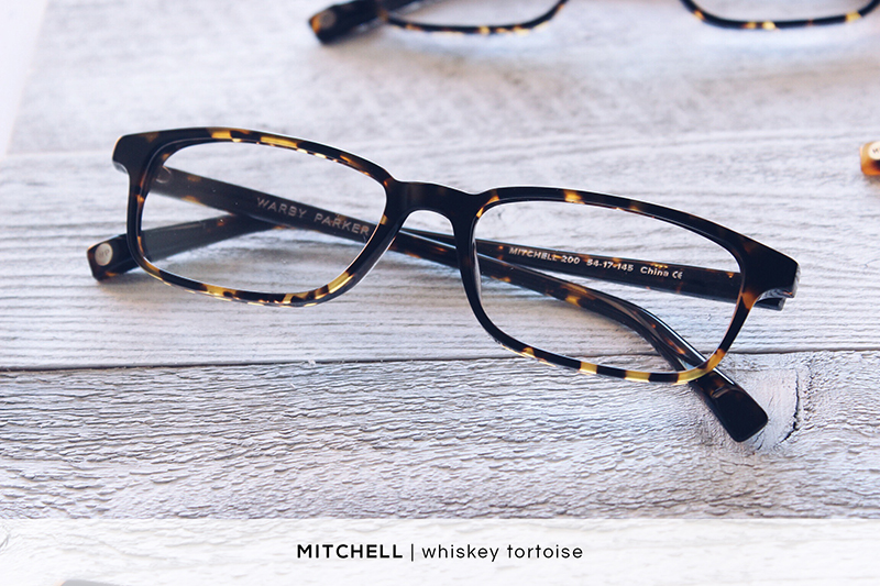 Warby Parker Mitchell - Whiskey Tortoise | HelloLovelyLiving.com