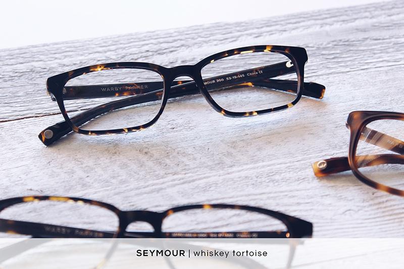 Warby Parker Seymour - Whiskey Tortoise | HelloLovelyLiving.com
