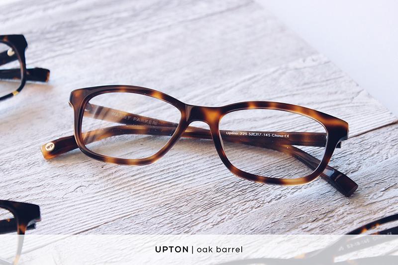 Warby Parker Upton - Oak Barrel | HelloLovelyLiving.com