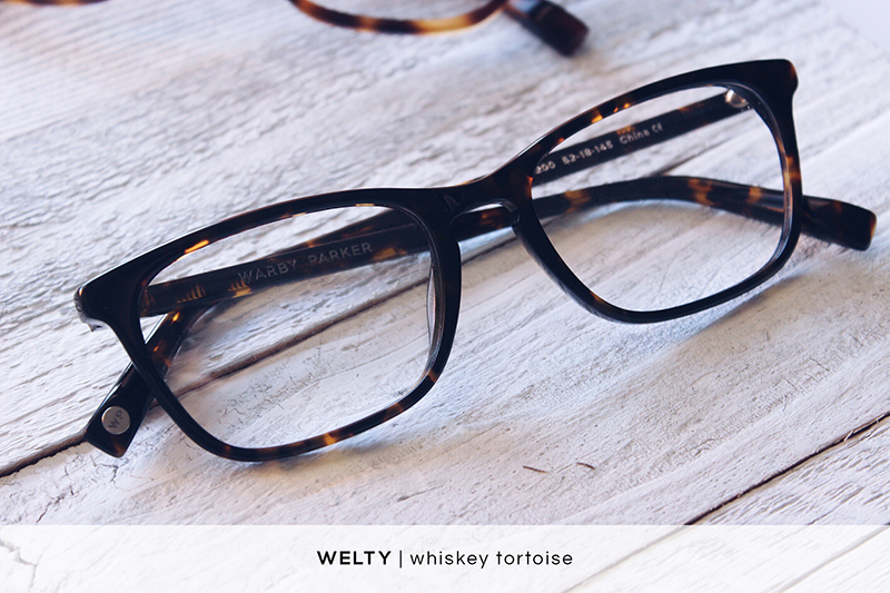 Warby Parker Welty - Whiskey Tortoise | HelloLovelyLiving.com