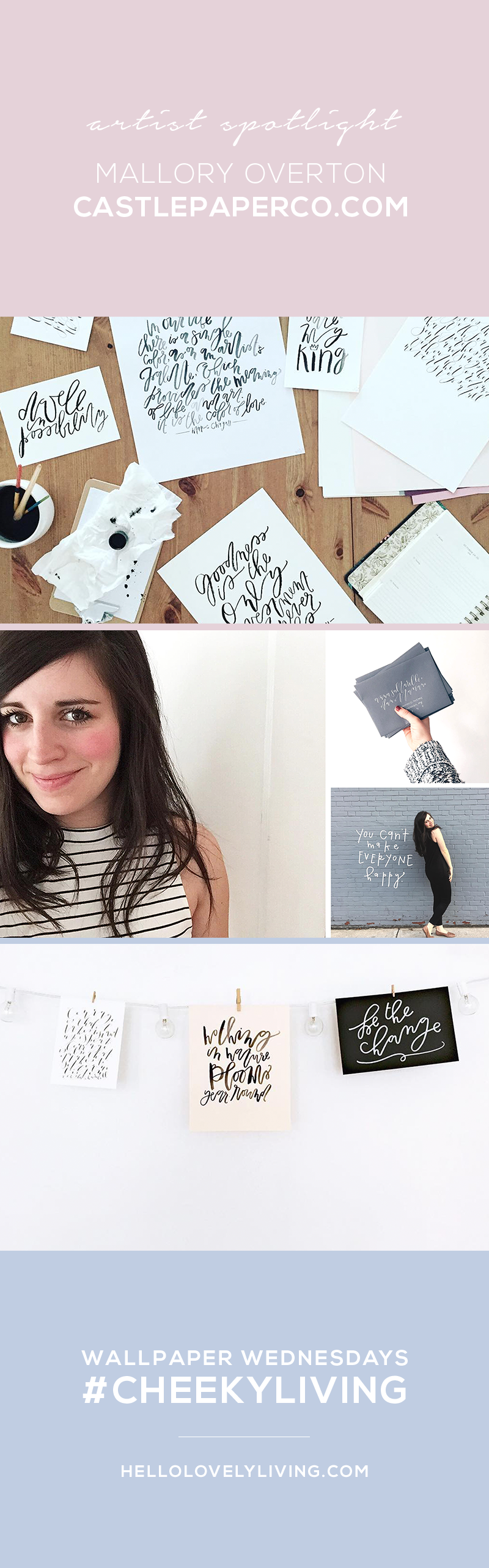 Wallpapers Wednesdays 31 | Artist Feature - Mallory Overton