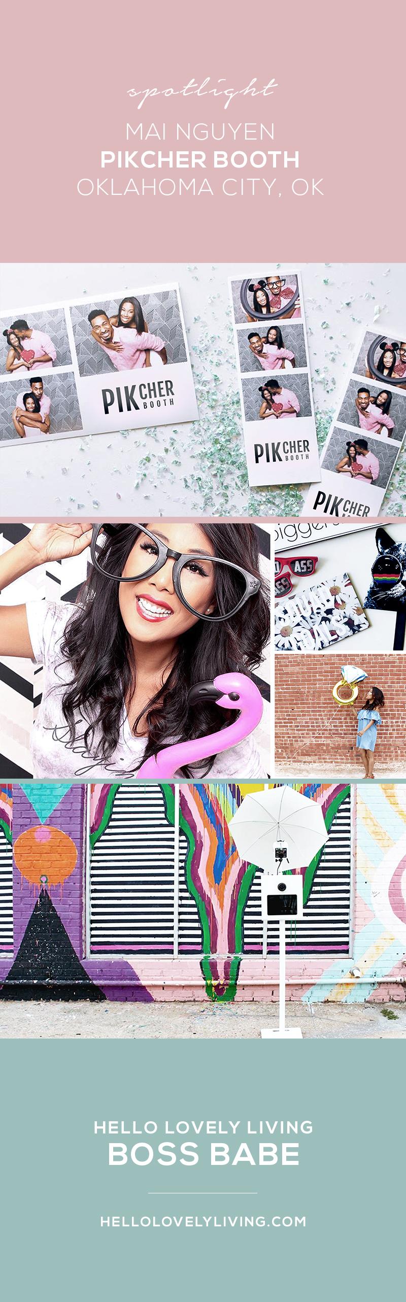 HelloLovelyLiving.com | Mai Nguyen pikCHER Booth Oklahoma City, OK