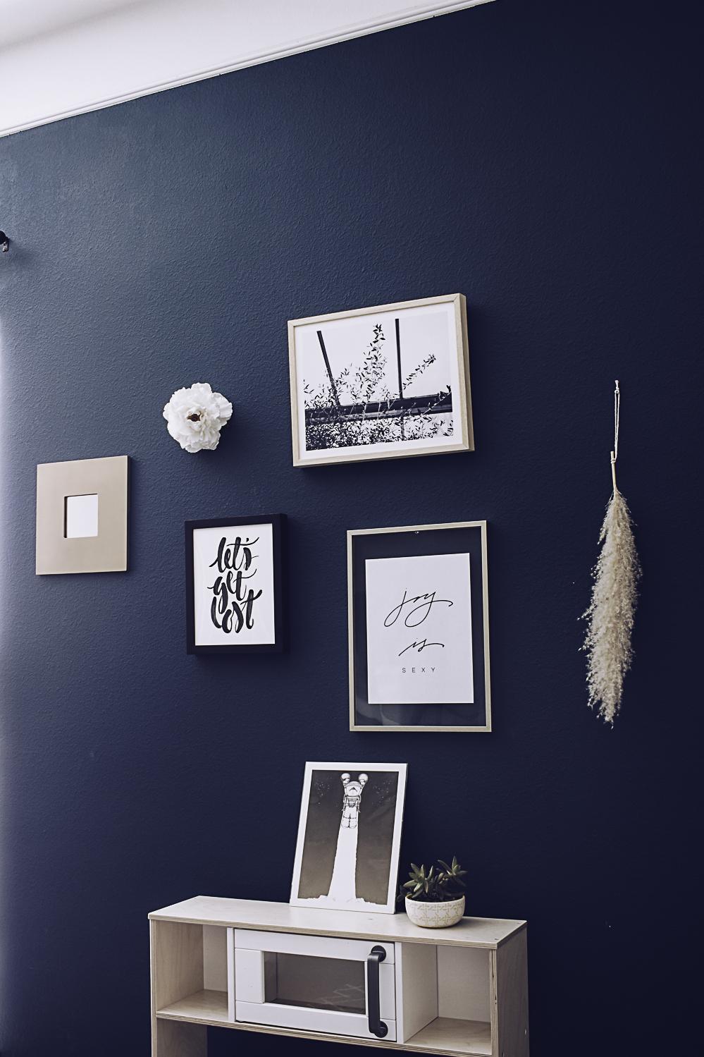 HelloLovelyLiving.com | Gallery Wall + Minted Custom Art Prints