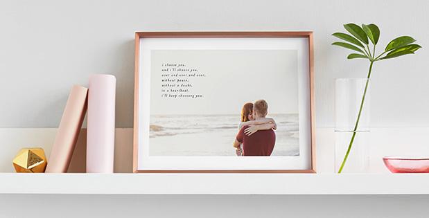 HelloLovelyLiving.com | Minted Minimalist Quote Keepsake