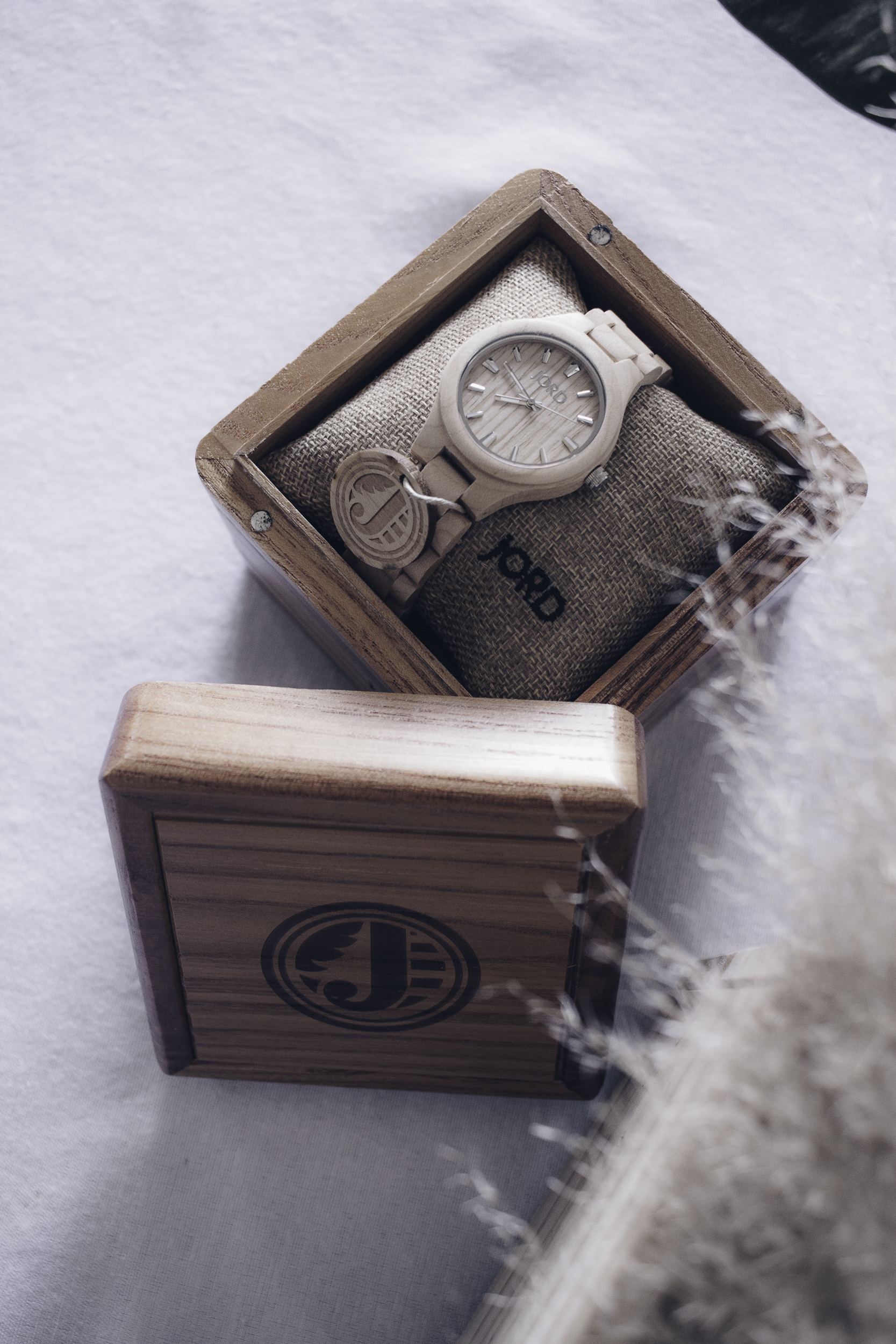 HelloLovelyLiving.com | Jord Wood Watches | Fieldcrest in Maple