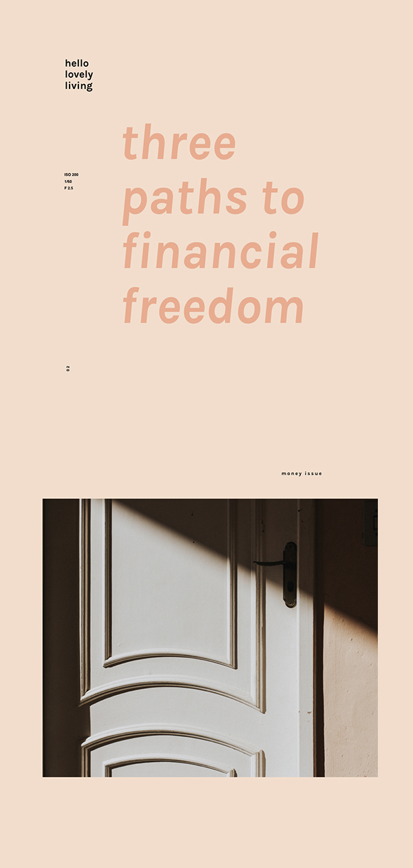 hellolovelyliving.com | Three Paths To Financial Freedom | As promised, I am back with another article in my money series. In the first article, I talked about how to earn real money using an app, not just points or gift cards. I am always looking for ways to make my dollar go even further, so with this series, I share my money making tips in hopes that you can benefit from them too.