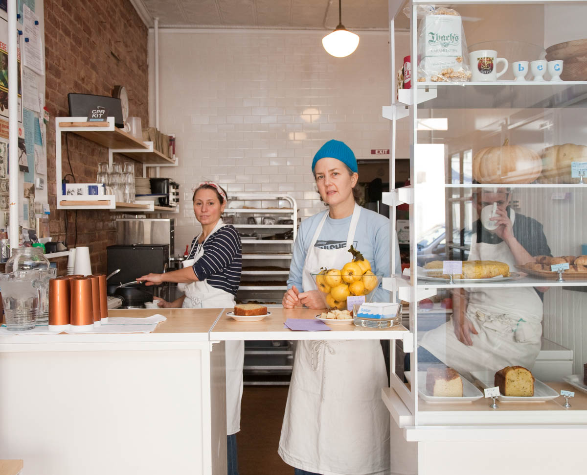 Caroline Fidanza, Elizabeth Schula & Rebecca Collerton, Saltie, for Edible Brooklyn