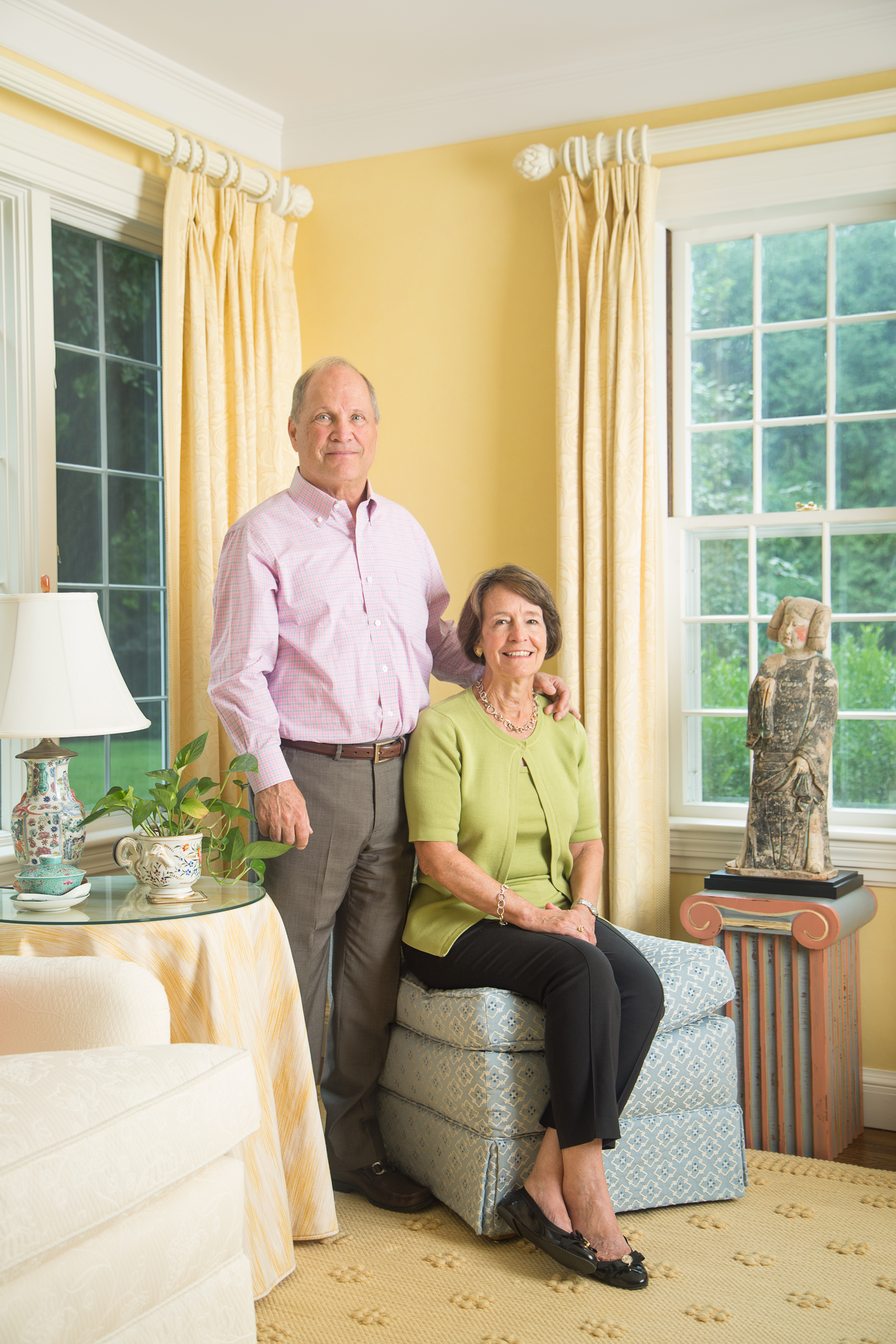 Chip and Margaret Ziering for Apollo Magazine