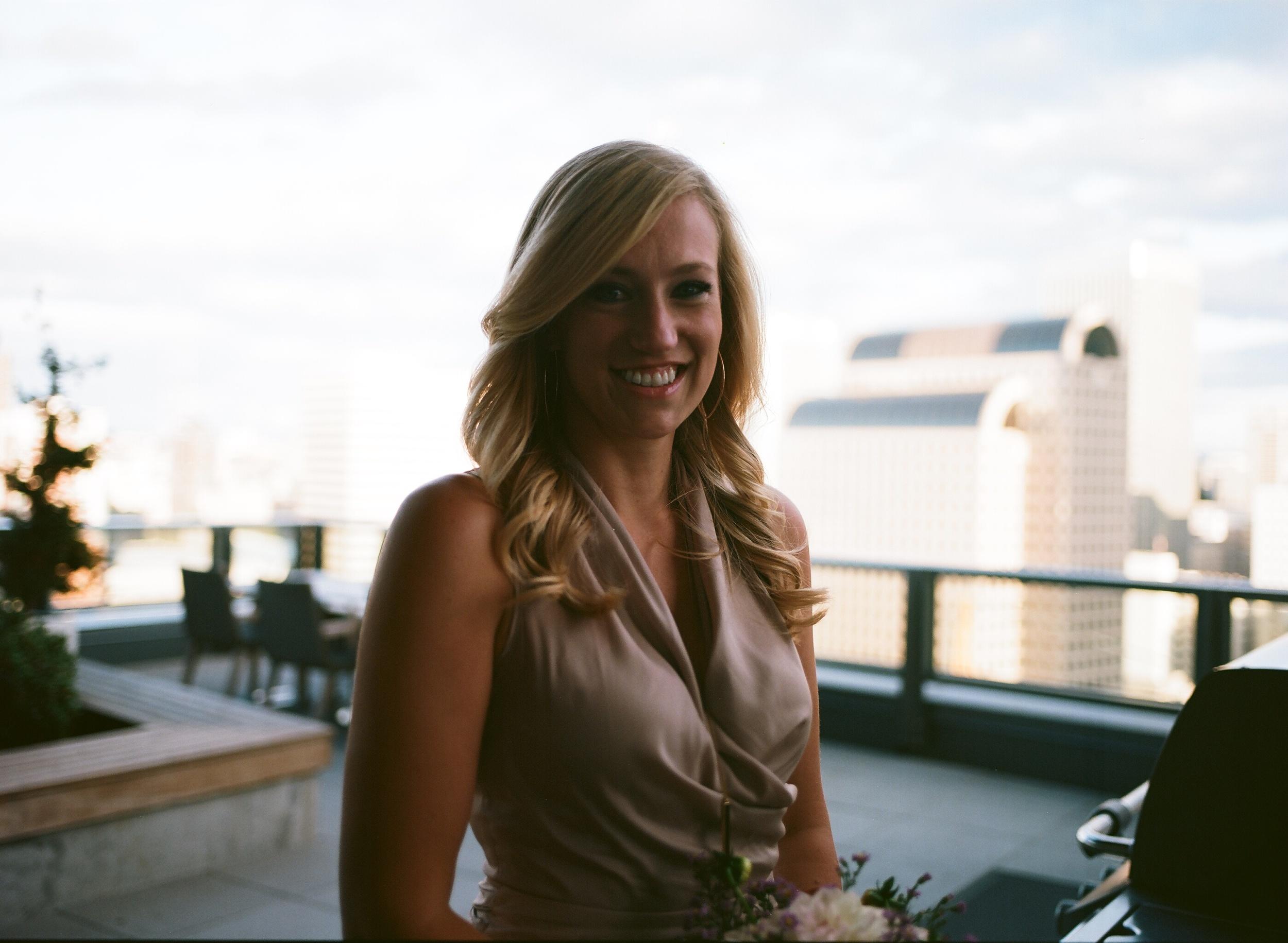 Seattle Wedding Photography Medium Format Film