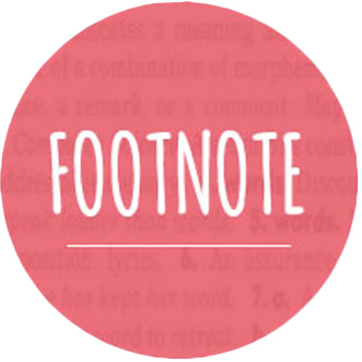 FOOTNOTE: EDITORIAL CALENDAR