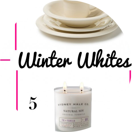 WINTER WHITE ROUNDUP!