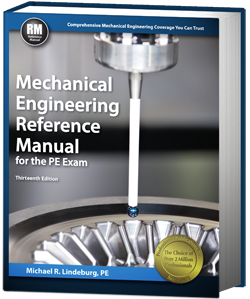 Mechanical Engineering Reference Manual 13th Edition (MERM13)