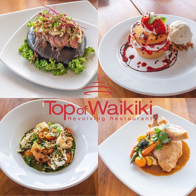 NEW MENU: Top of Waikiki launched new menu items.  Learn more on hawaiibevguide.com link in bio. #hawaii #honolulu #food #foodstagram