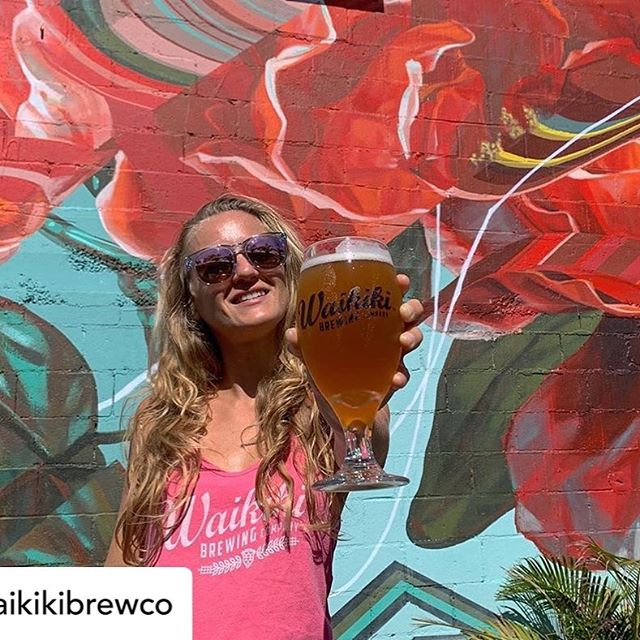 """Waikiki Brewing Co re-released """"She's Got Sauce"""" Rye Saison available at both locations.  About the beer: """"Sauce is used to describe someone or something that has style, confidence, and an attraction about them. Close your eyes and breath in deep, this sasion will have your nose hairs perked, with a tarty citrus effervescence. That first sip...that classic saison complexity; funk, and fresh fruits, tied in with a beautiful balance of rye and acidity will have you screaming at us for making such a small amount. She most certainly has sauce!"""" #hawaiibeverage #beer #craftbeer #bar #hawaii #honolulu #waikiki #rye #saison"""