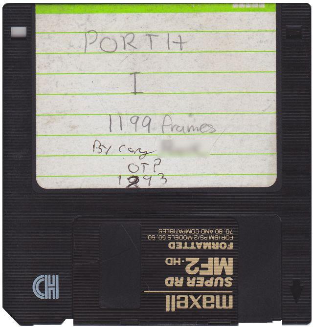 porth floppy