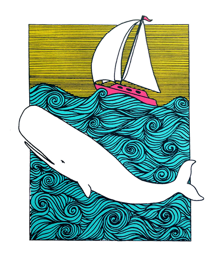 Moby Dick Poster  - commission