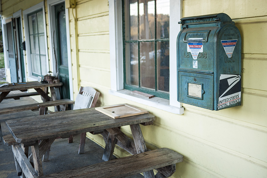 The Freestone General Store is also the post office.