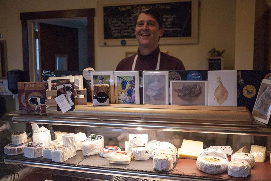 Omar Mueller, proprietor of Freestone Artisan Cheese. Nice guy. Tell him I sent you.