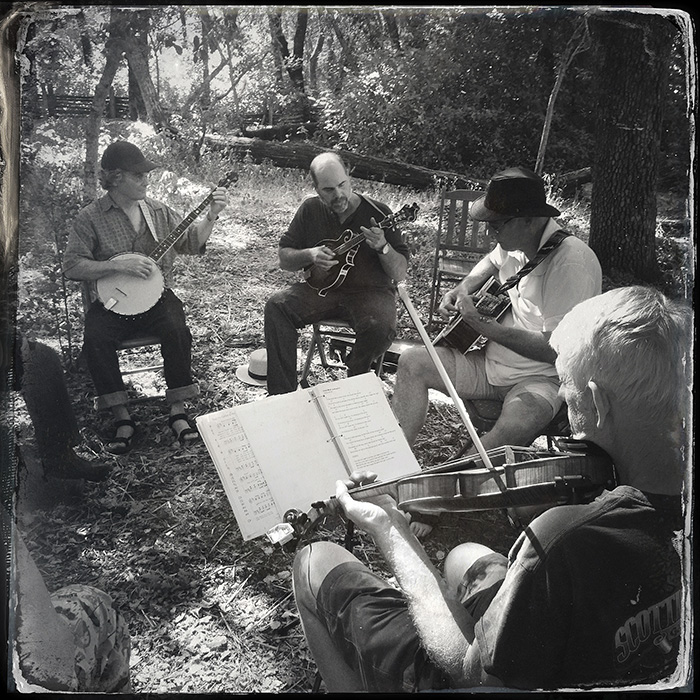The second Sunday of every month, musicians are invited to gather and play traditional music.