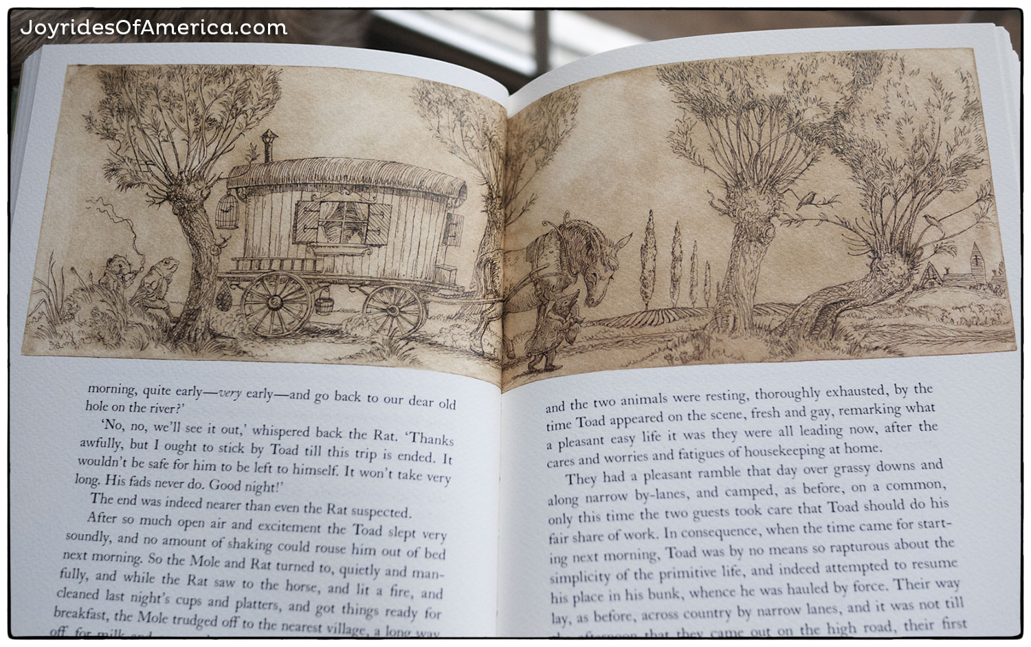 The Wind in the Willows by Kenneth Grahame, illustrations byCharles van Sandwyk,published by the Folio Society.