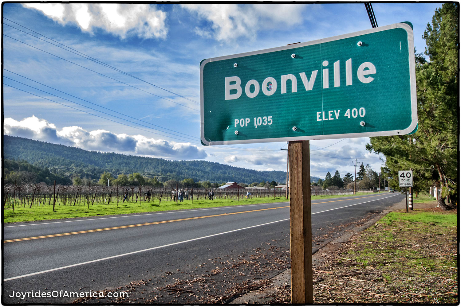 BOONVILLE, CALIFORNIA   March 5, 2014  »»  VIEW THIS ISSUE       »