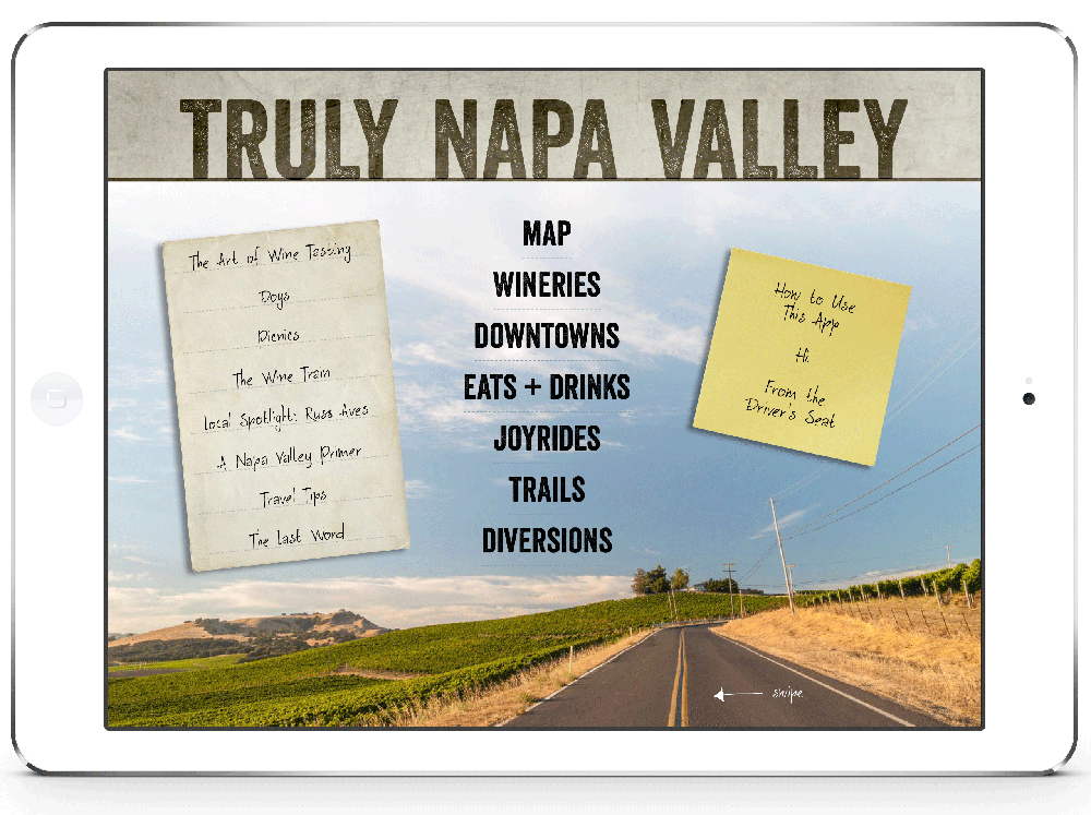 INTRODUCING TRULY NAPA VALLEY   »»   VIEW THIS ISSUE      »