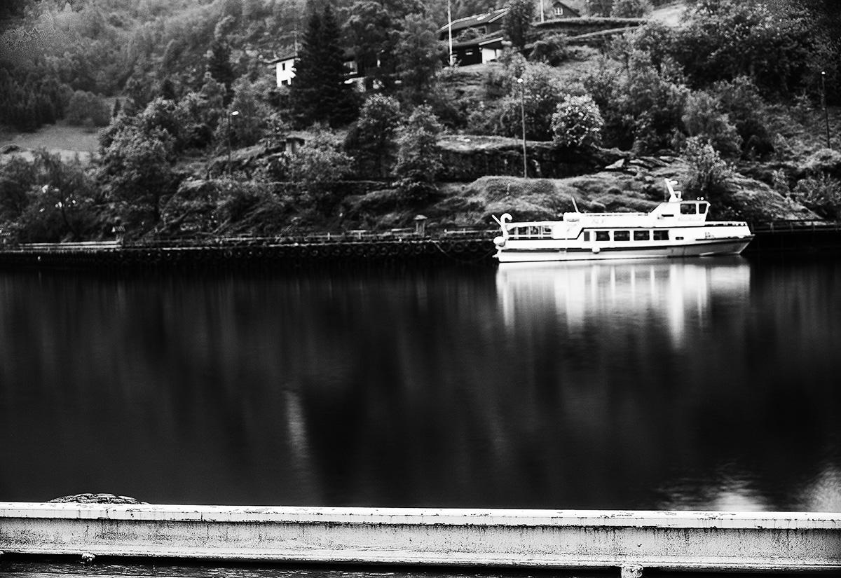 Flam, Norveç. ND filtre ile uzun pozlama örneği