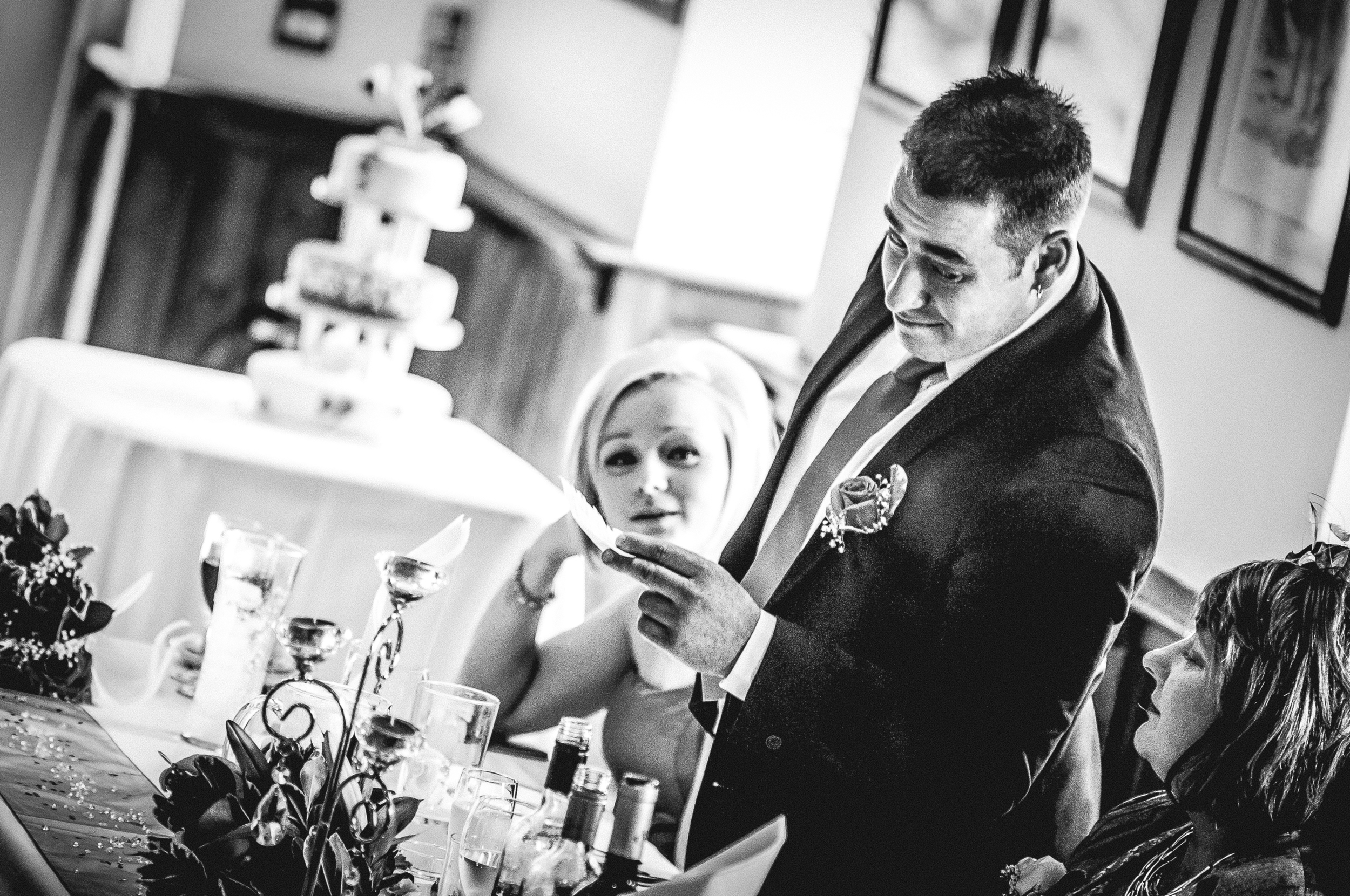 My first wedding.  Nikon D300 | 135mm | F2.8 - 1/160th - iso1000