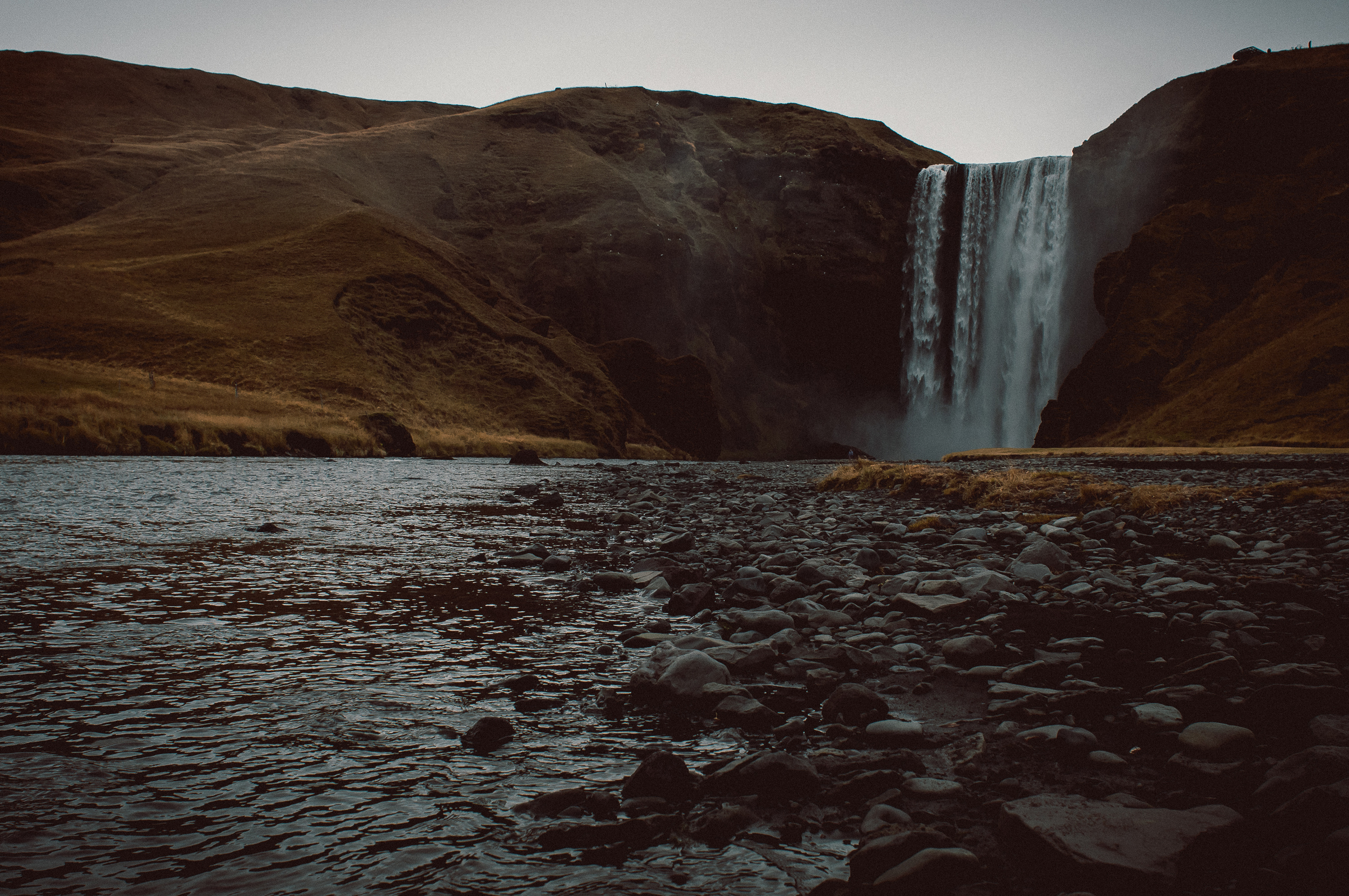Skogafoss, Iceland.   Nikon D90 | 24mm | F9 - 1/125th - iso200