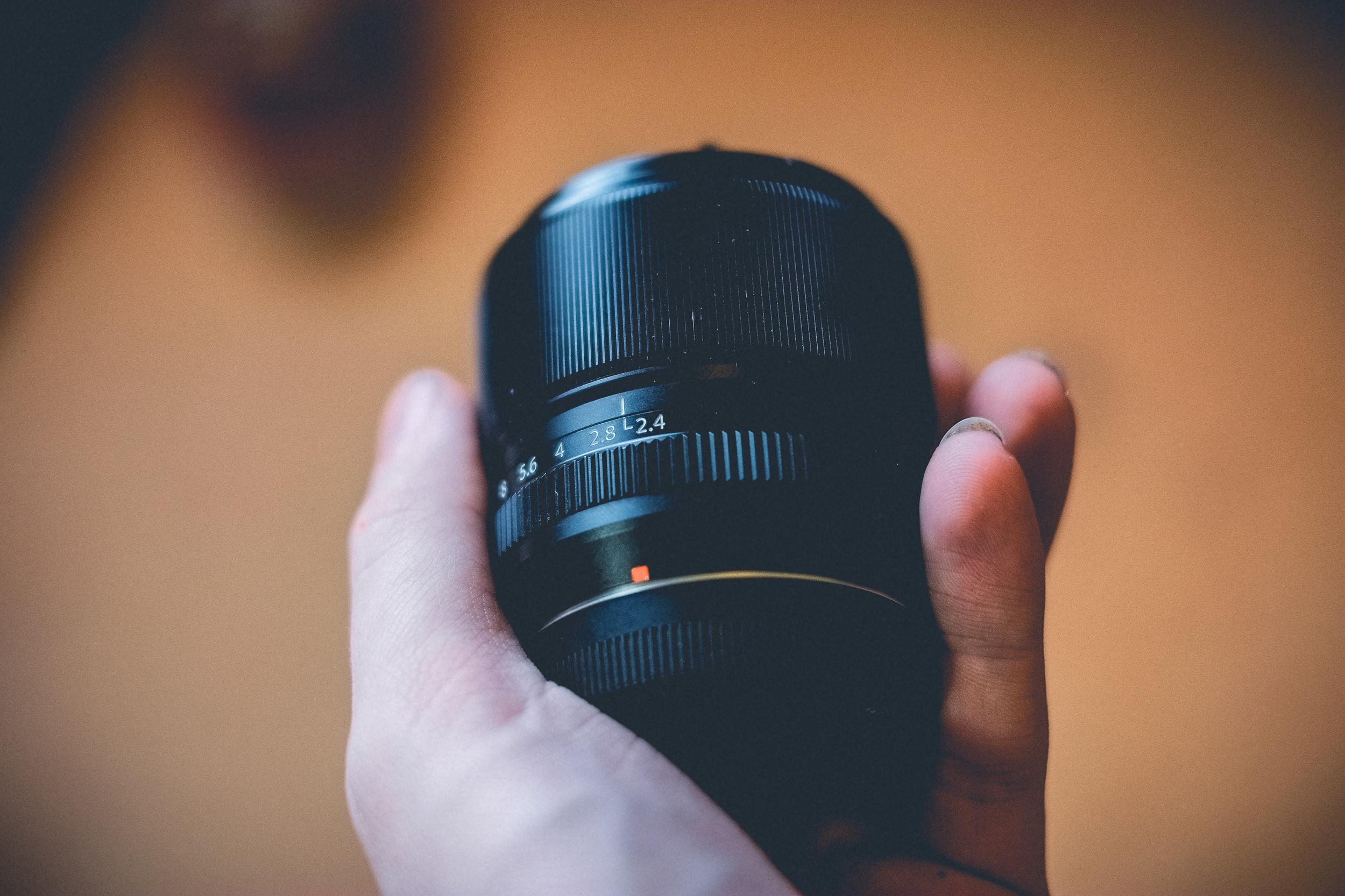 The Fuji 60mm Macro lens.