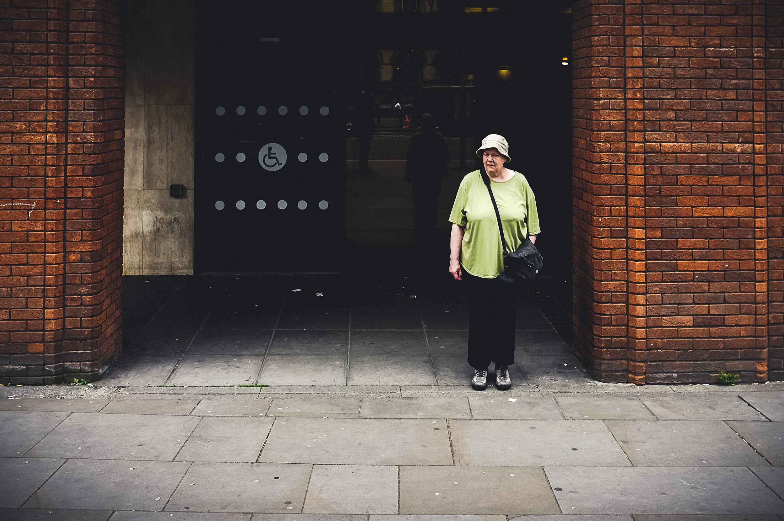 The Fuji X100 makes for one awesome, discreet street photography camera.