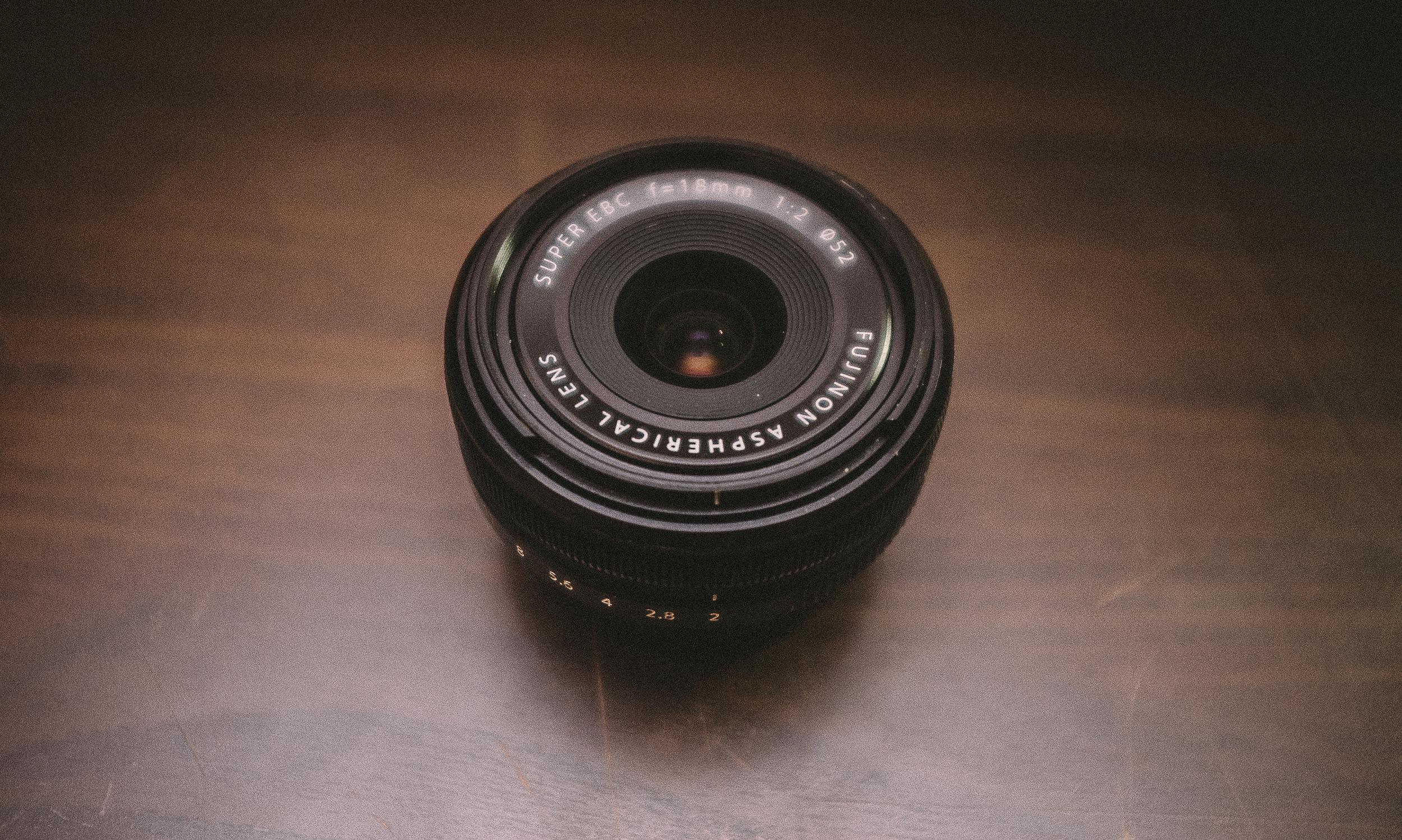 The Fuji 18mm F2 Lens - The forgotten