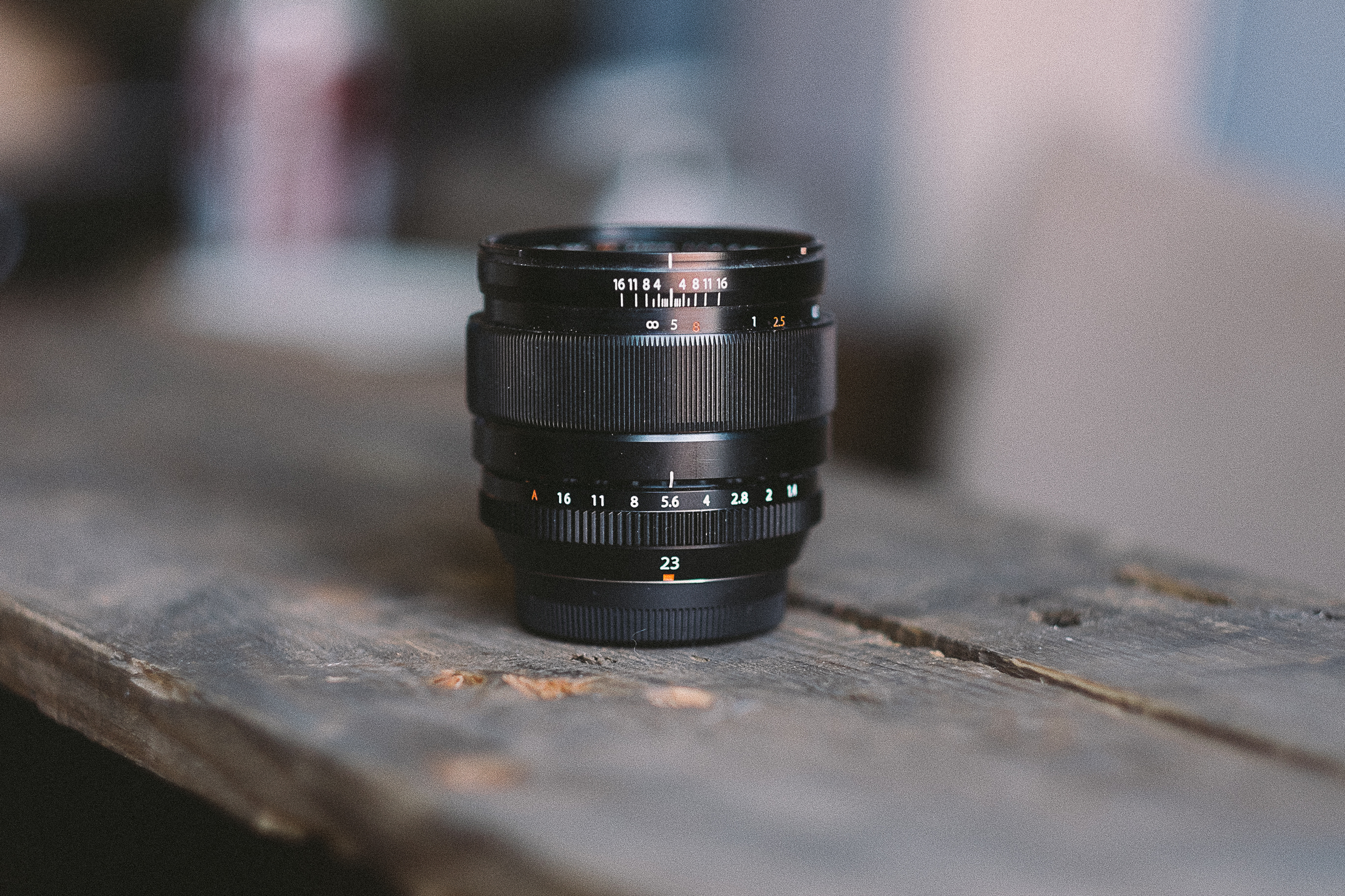 The Fuji 23mm - A great performer