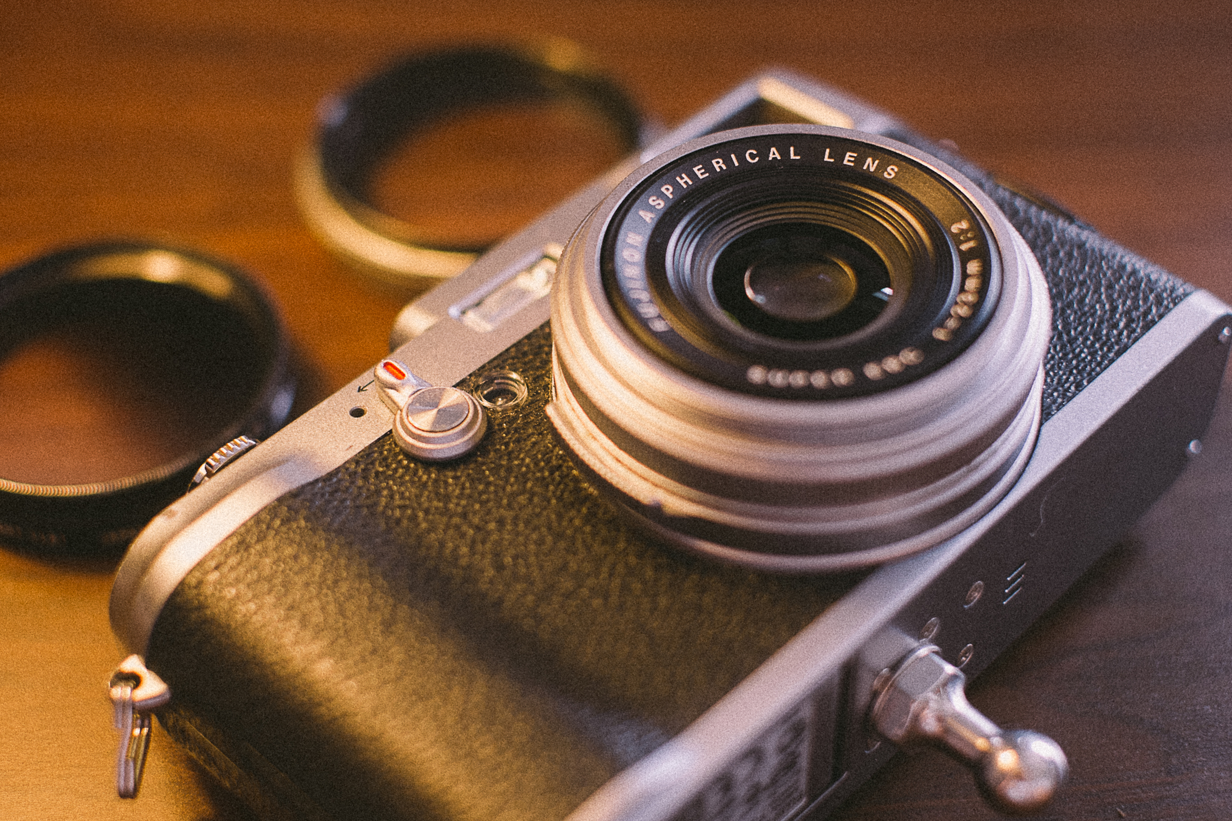 The original Fuji X100, mine is now well worn but still my go-to choice for discreet street photography.
