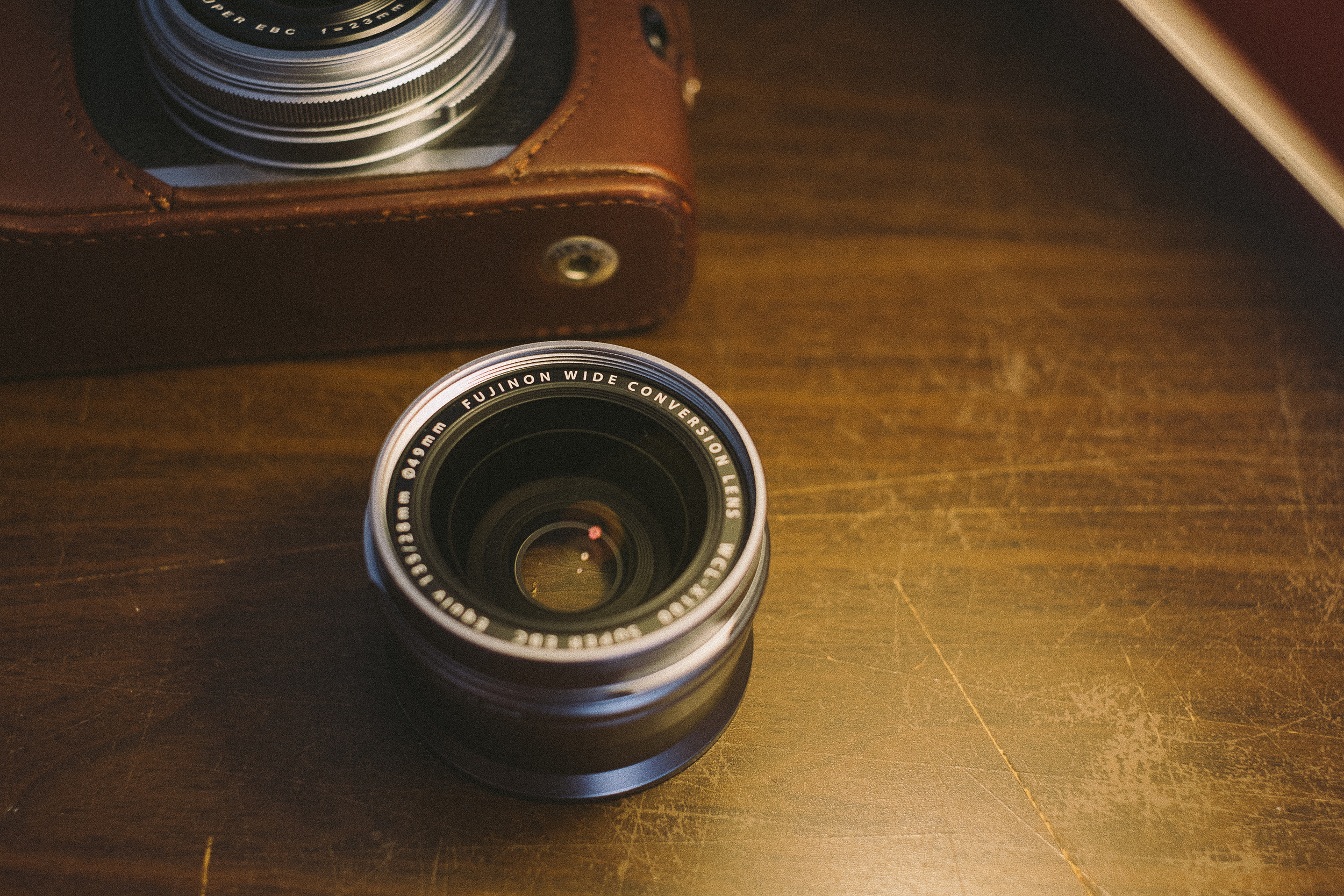 The Fuji X100 Wide Conversion Lens or 'WCL'
