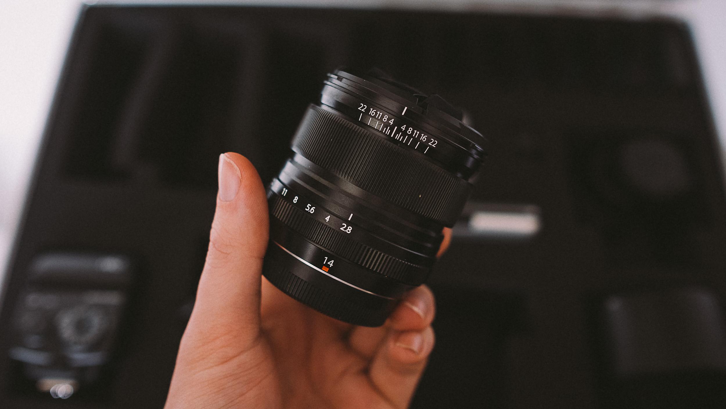 Fuji 14mm lens review