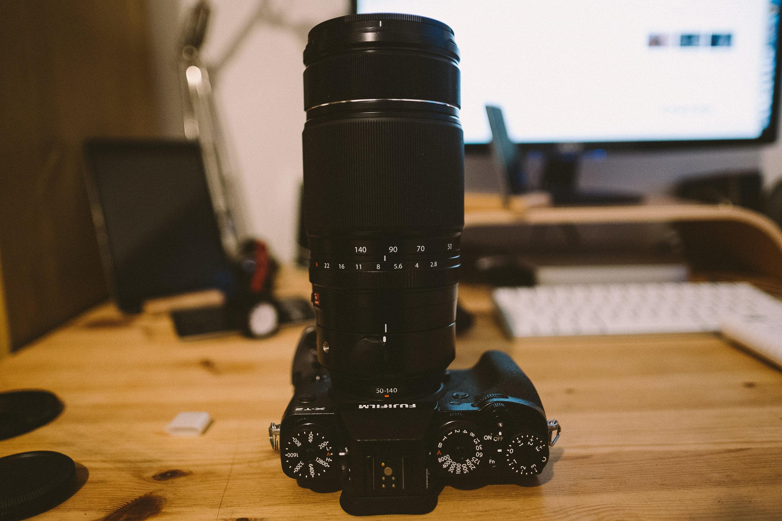 Fuji 50-140mm 2.8 Lens Review