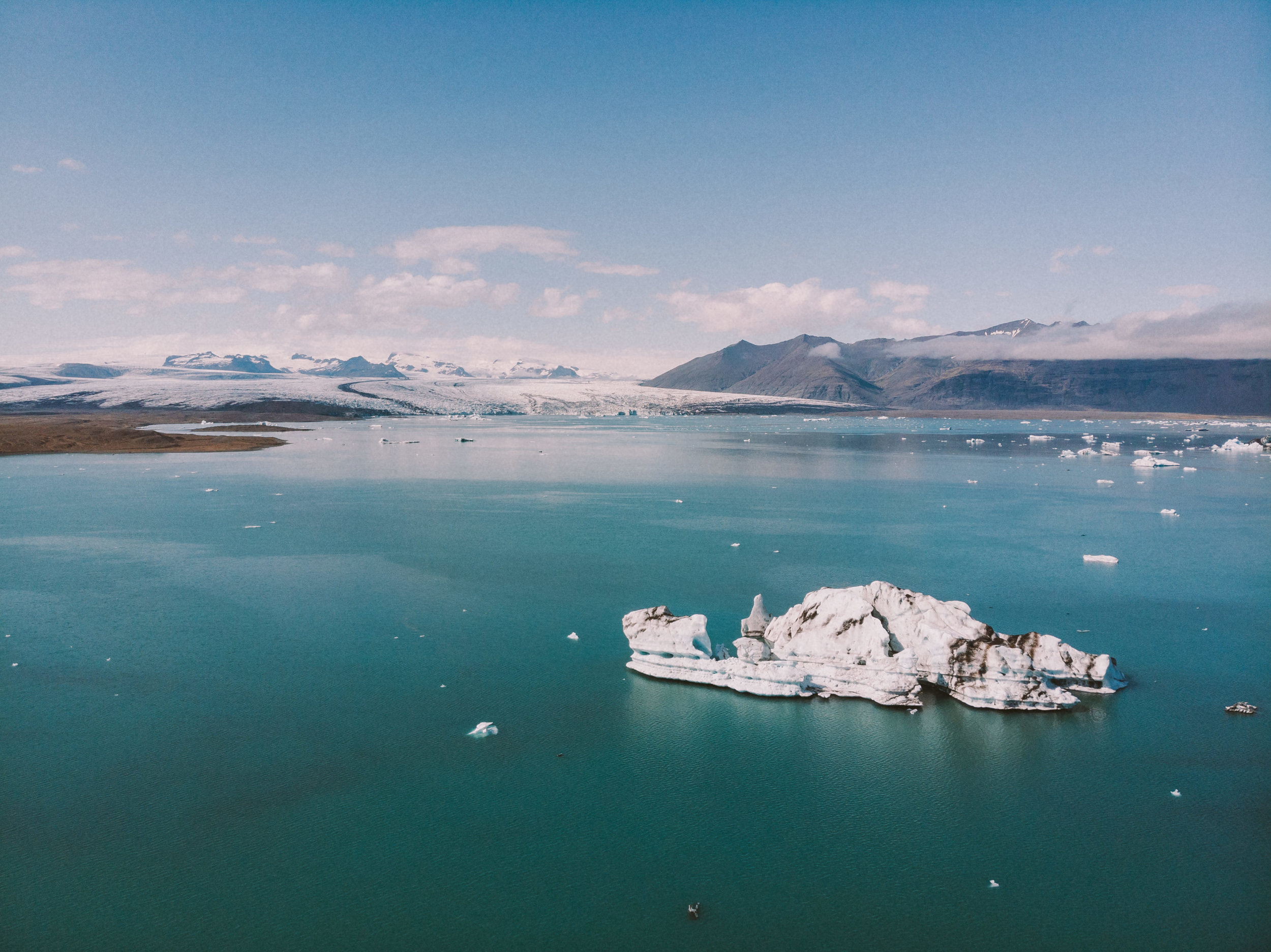Iceland is the perfect place for getting the drone out!