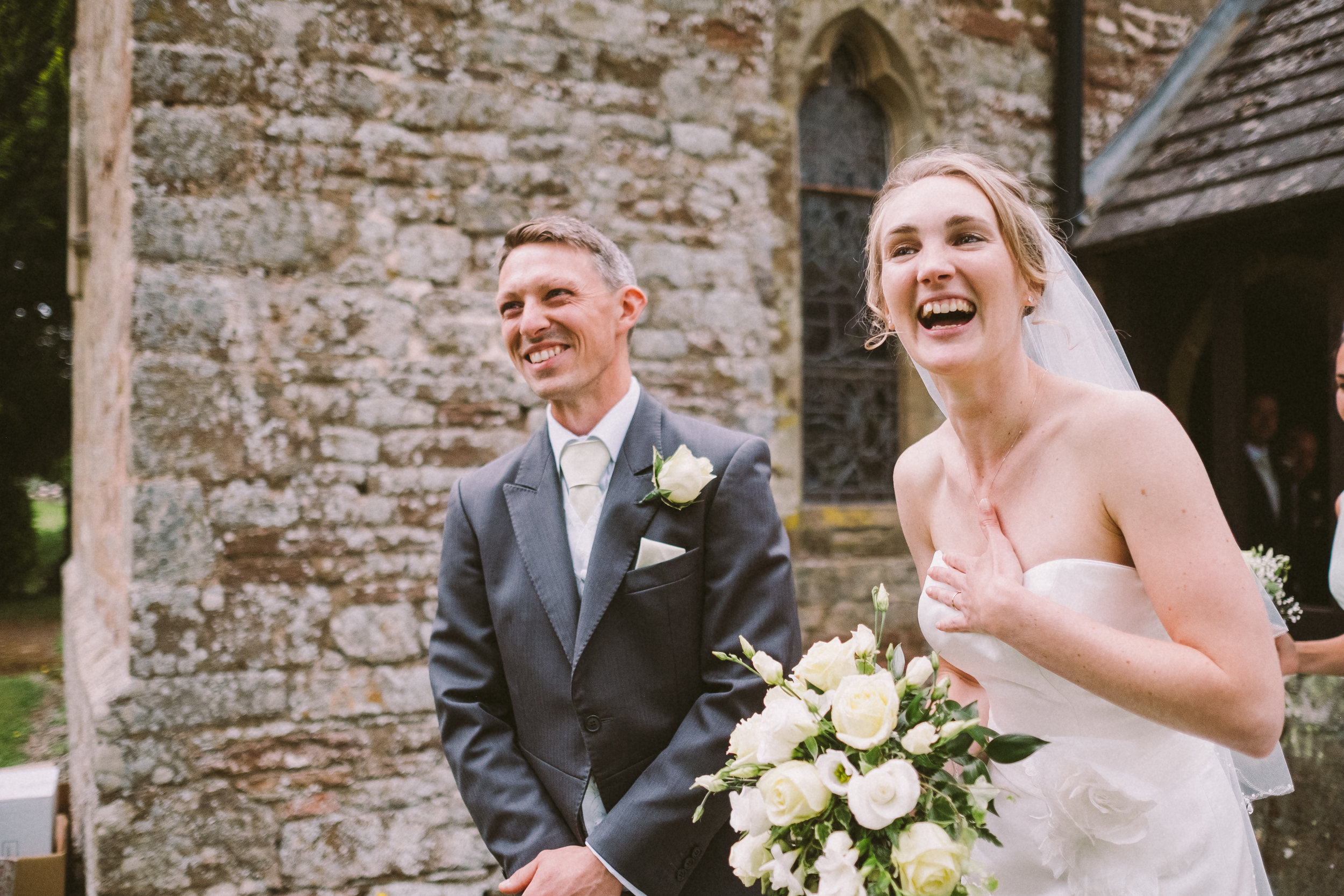 All the smiles at this wonderful wedding!