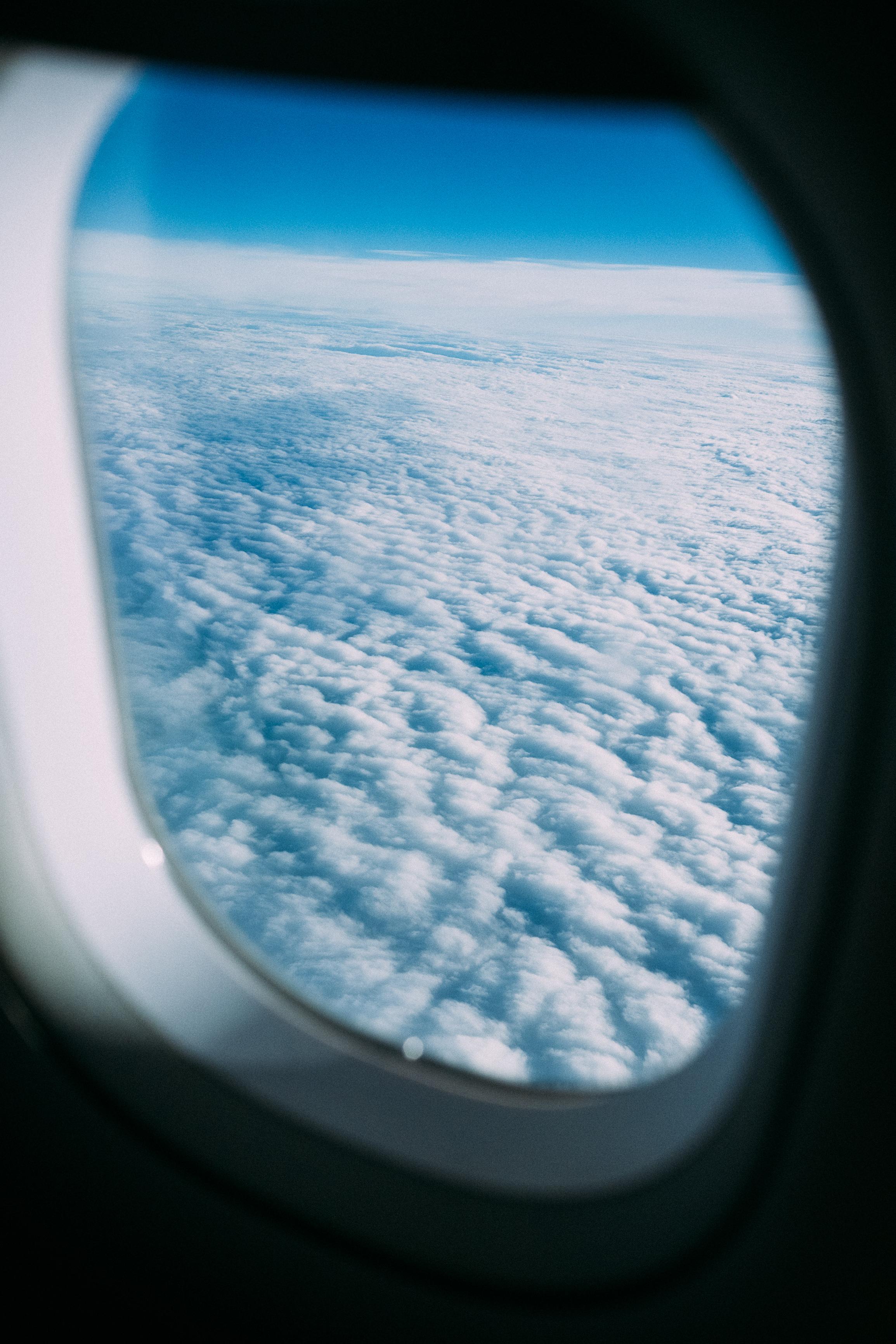 Obligatory airplane window photo.