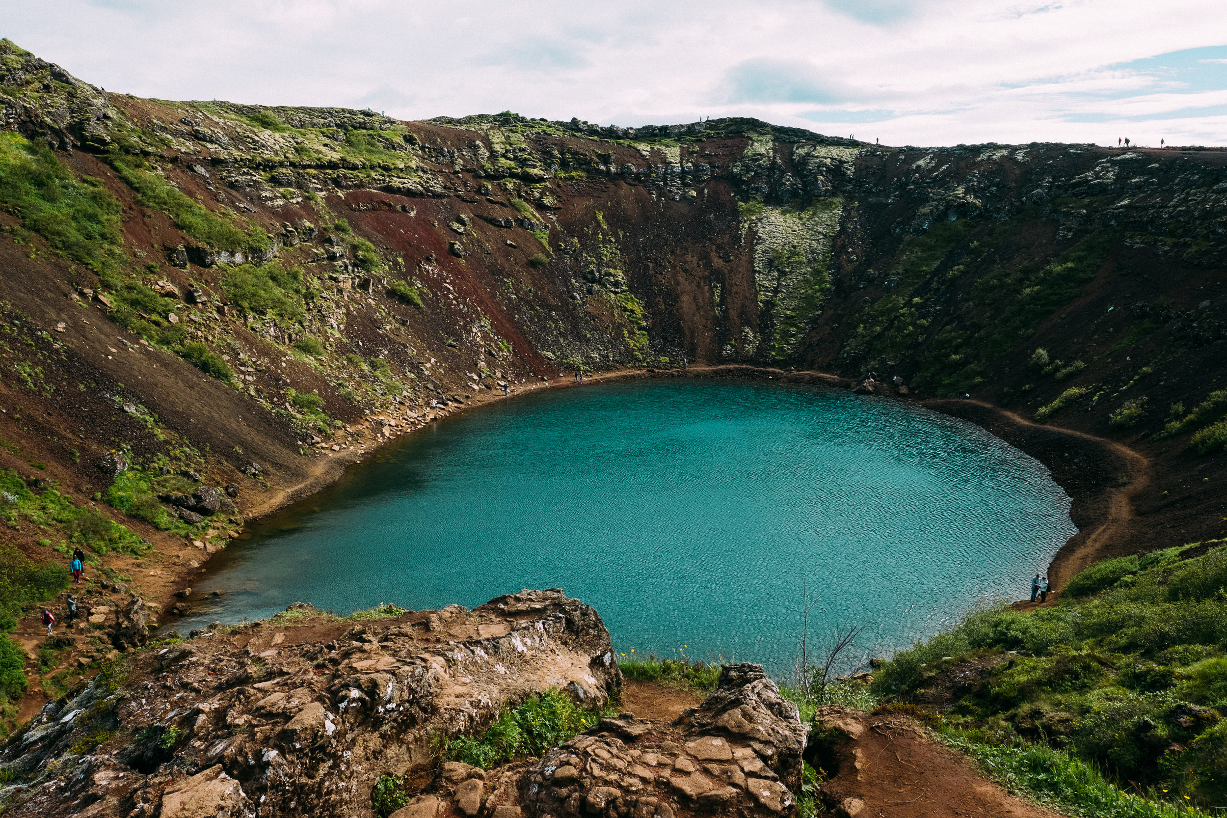 Kerid Crater -  [64.1076371,-20.9471584]  Fuji X-H1 + 16mm 1.4 lens