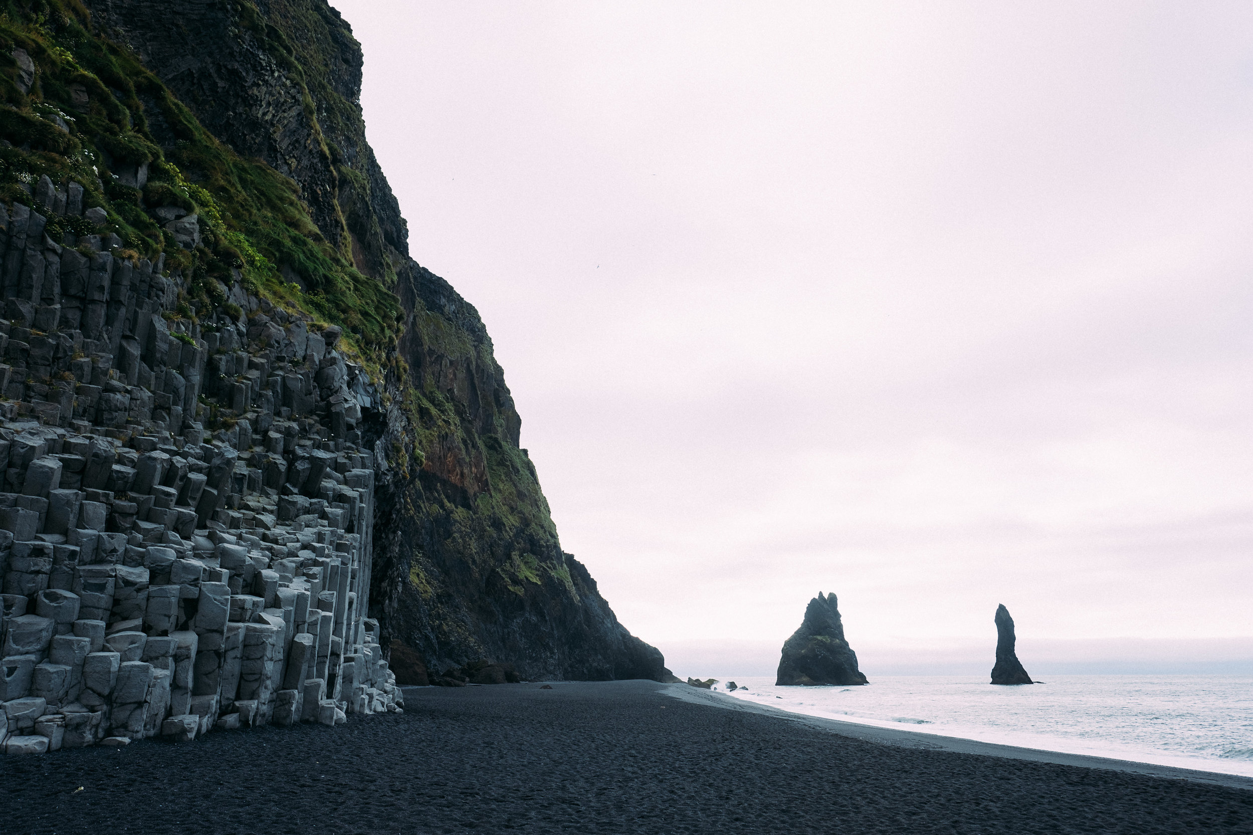 The Reynisdrangar -  Fuji X-H1 + 16mm 1.4 lens