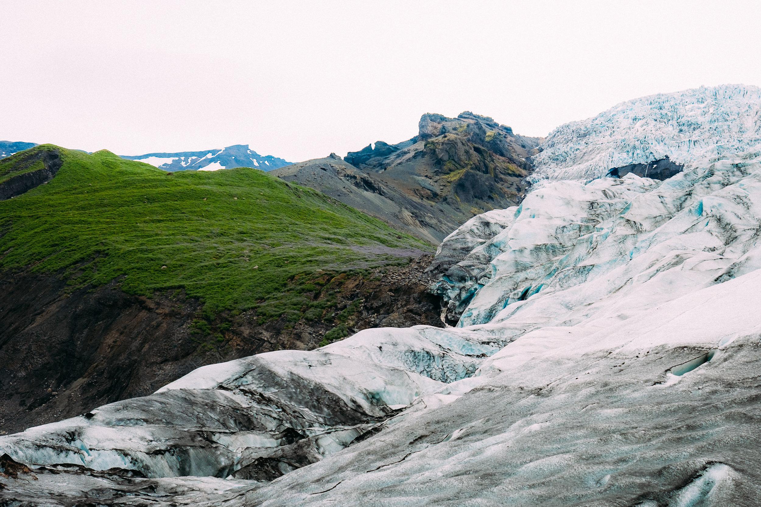 Falljökull Glacier Tongue -  [63.9763882,-16.7787548]  Fuji X-H1 + 23mm 1.4 lens