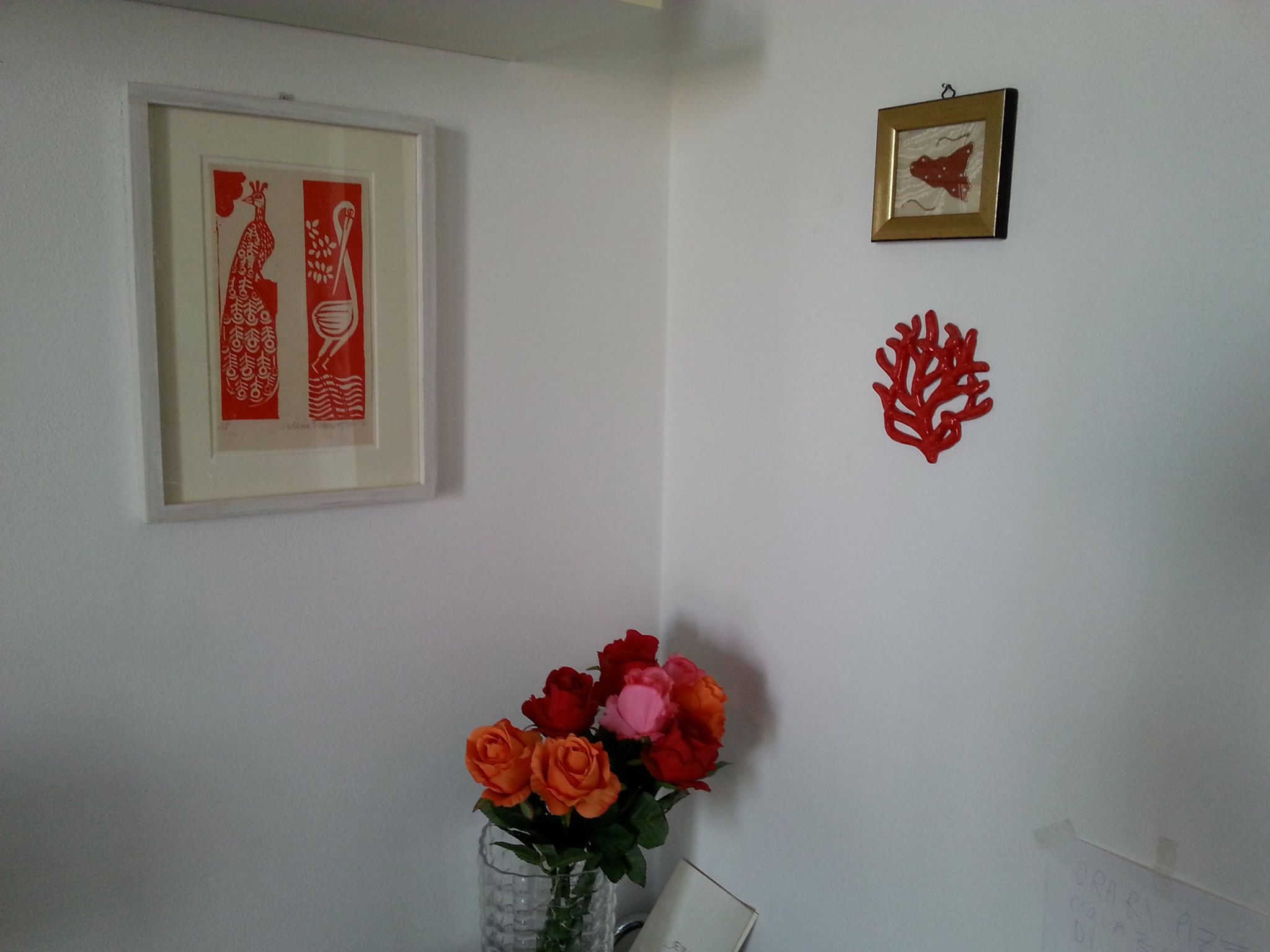 linocut prints, 2014