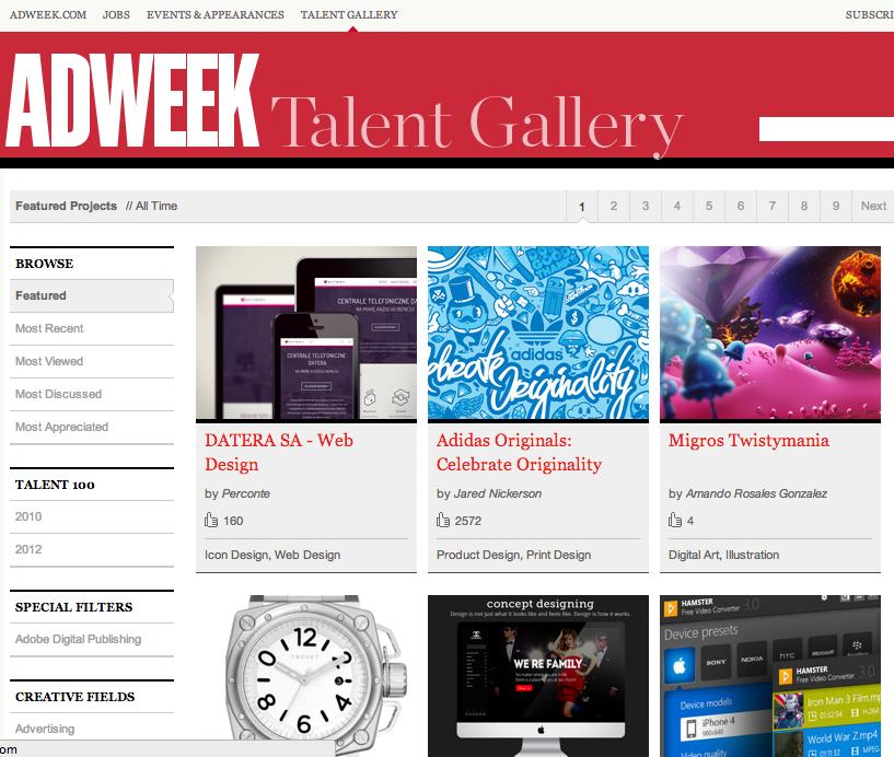 Adweek Talent Gallery