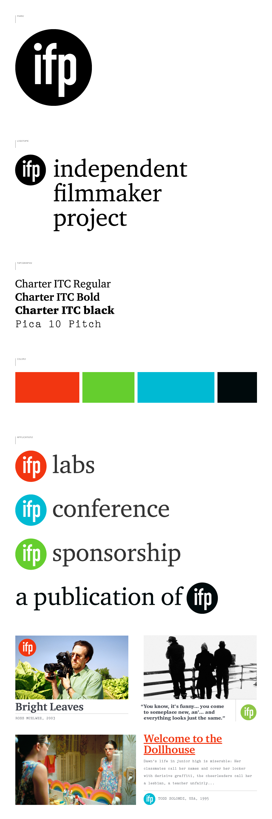 IFP Brand System