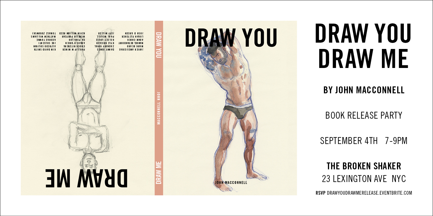 Draw You / Draw Me  book release party